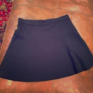 Black mini skirt size 8
